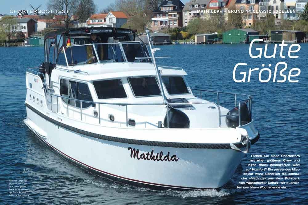 Hausboot mieten Testbericht Gruno 44 Bootsurlaub.de