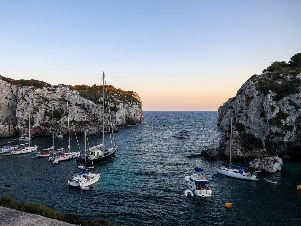 Menorca, Yacht, Boot
