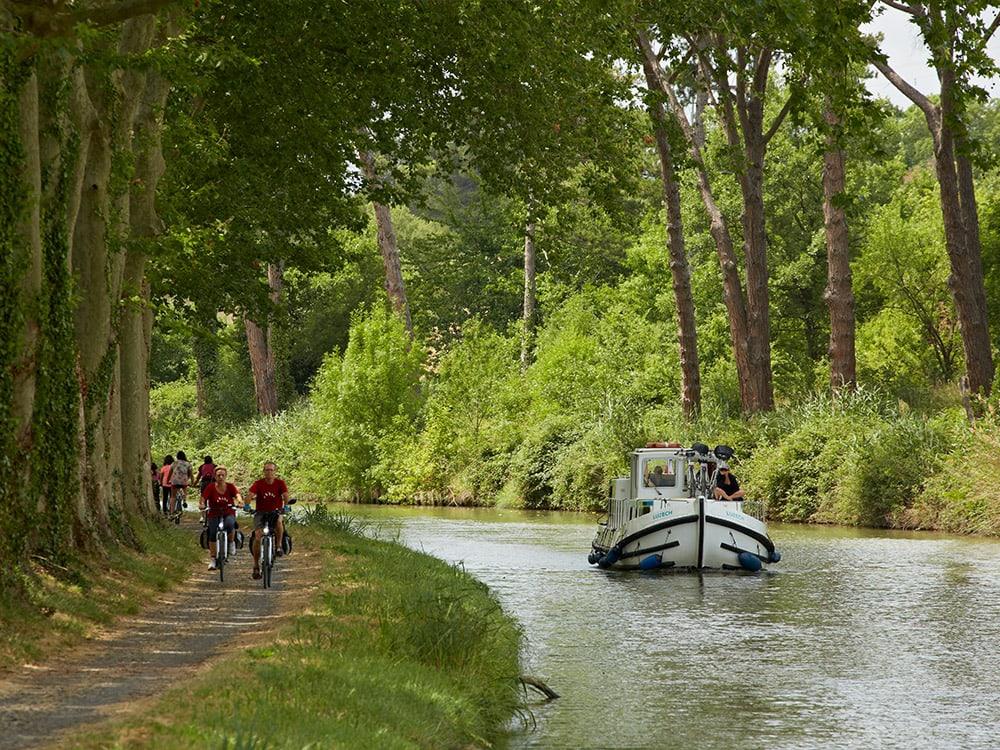 Canal du Midi, Yacht, boat