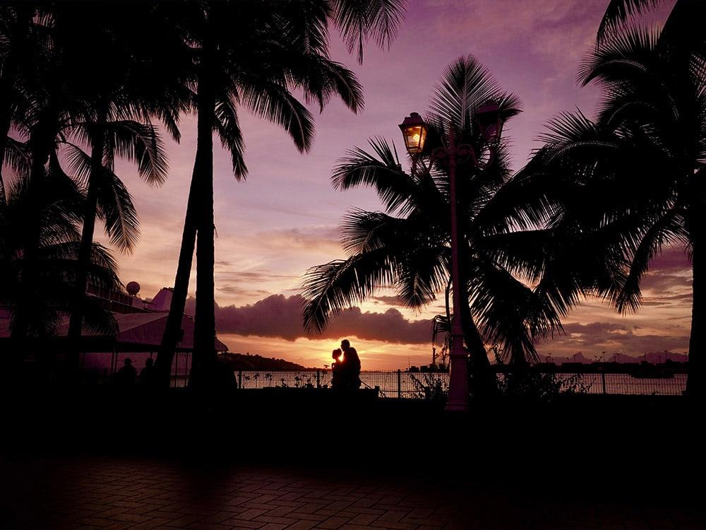 Tahiti, yachtcharter, boot