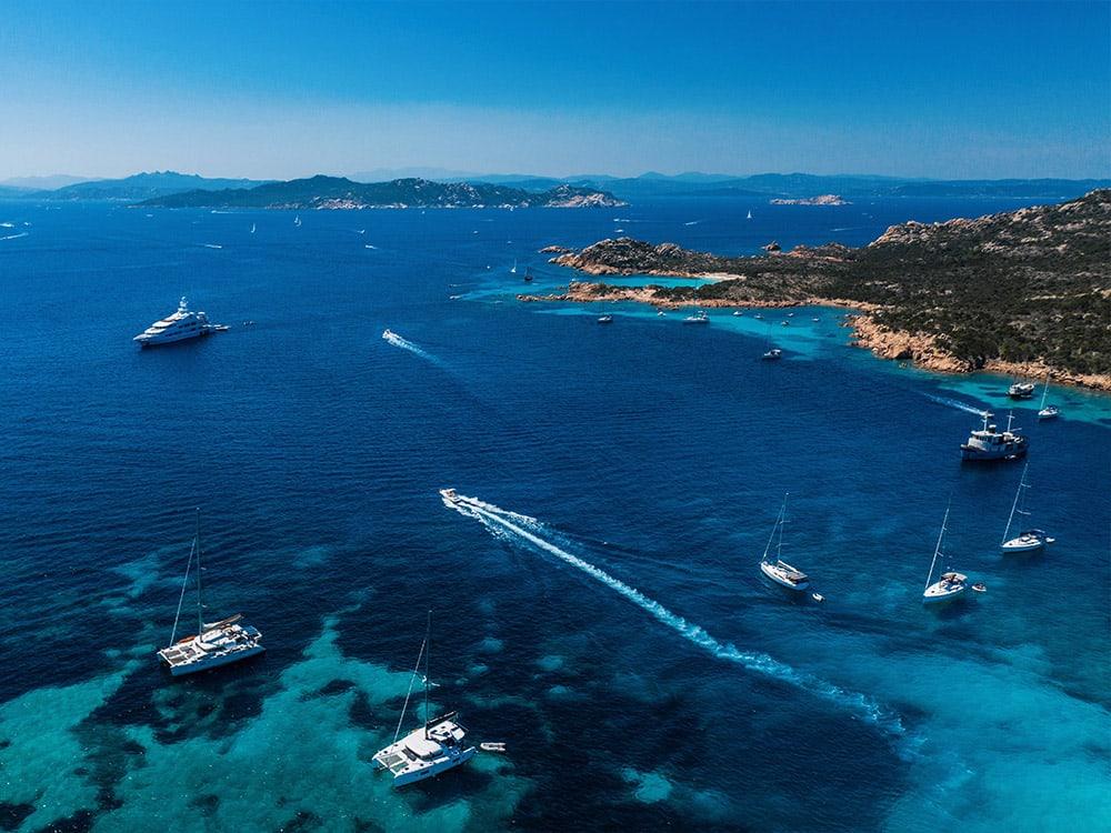 Sardinien, Yacht, boot