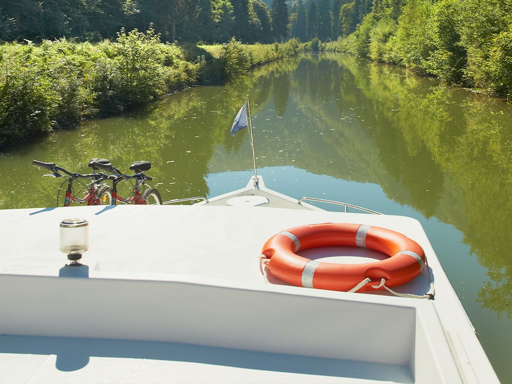 sicherheit an bord, Yacht, Hausboot
