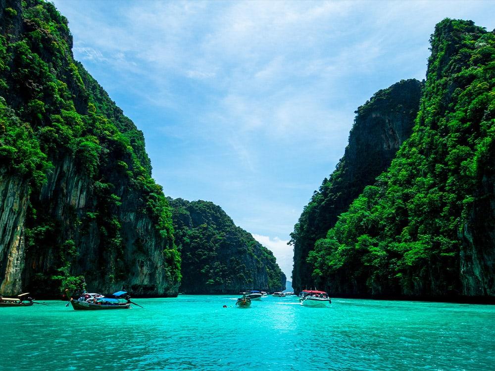 Phuket, Yacht, Boot