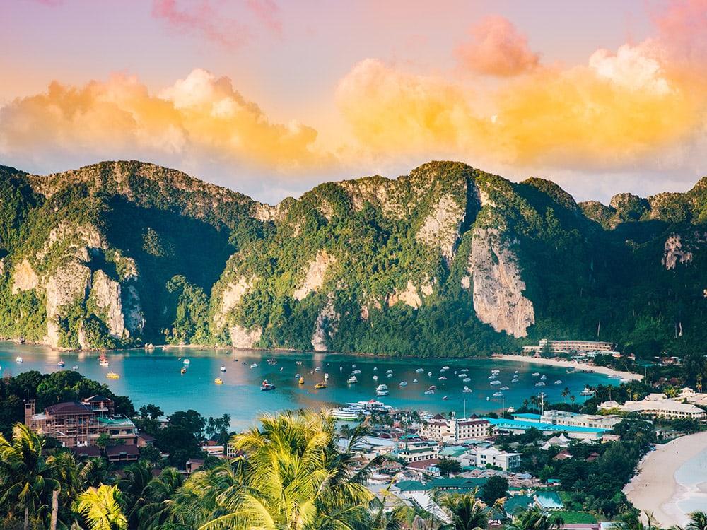 Thailand, Boot, Hausboot